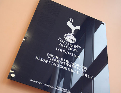THFC Foundation / Barnet & Southgate College Commission