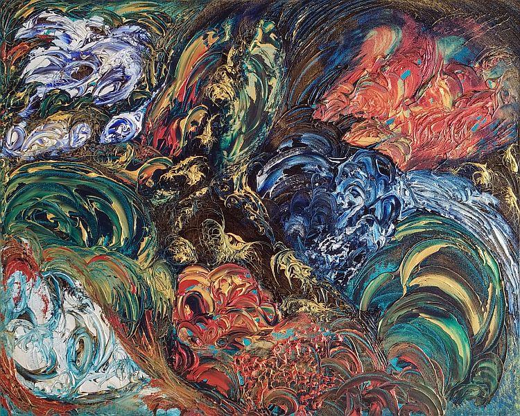 Georgia - Furrah Syed - Abstract Art