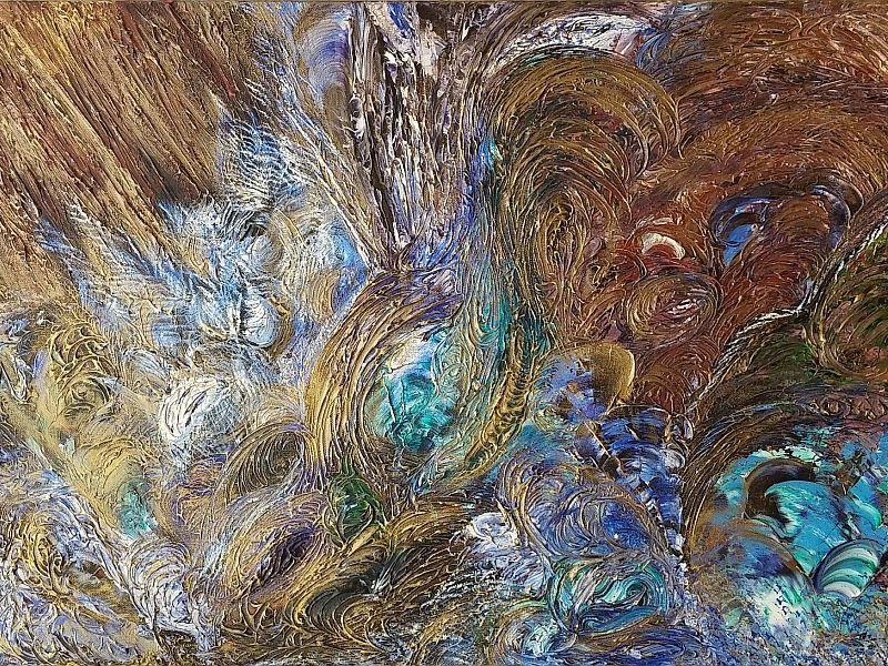 Hestia - Furrah Syed - Abstract Art