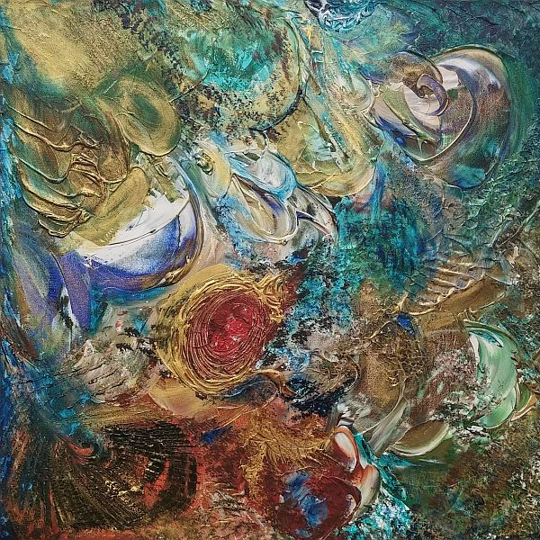 Kazumi -Furrah Syed - Abstract Art